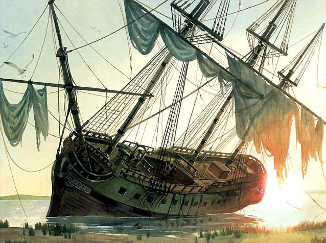 Notorious: Blackbeard's Queen Anne's Revenge ship has been excavated off the North Carolina coast since 1996