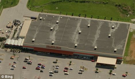 Open for business: The Home Depot do-it-yourself store in Joplin, Missouri