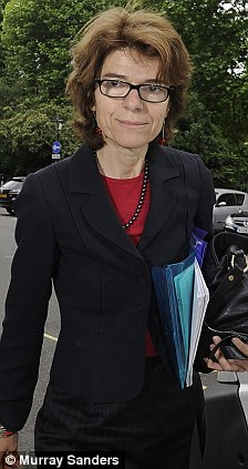 Claims: Chris Huhne's former wife Vicky Pryce
