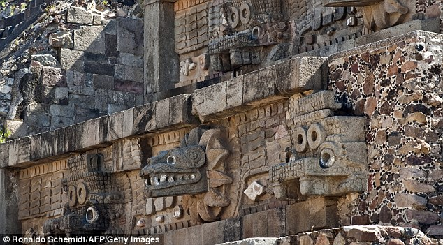Unearthing the past: The impressive ceremonial architecture on the Temple of the Feathered Serpent reveals an ancient civilisation steeped in tradition