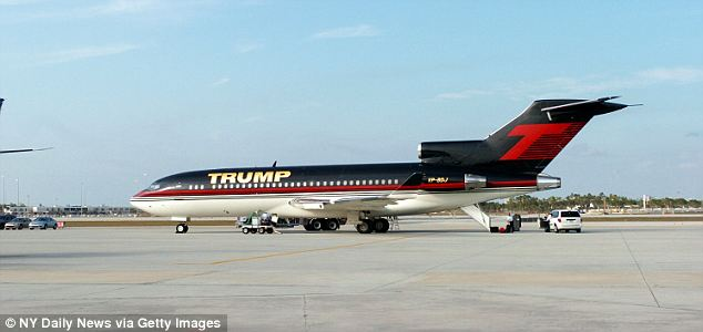 Donald Trump's old 727