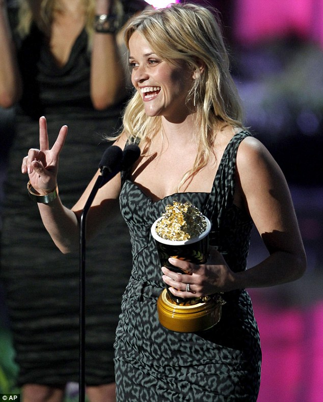 Advice: During her acceptance speech, the Hollywood actress also addressed the industry's younger actresses, to offer her advice