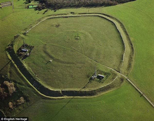 The Trundle near Chichester, Sussex, is an Iron Age Hill Fort built around a Neolithic causewayed enclosure. Researchers now believe that causewayed enclosures were rapidly erected all over southern England in just 75 years