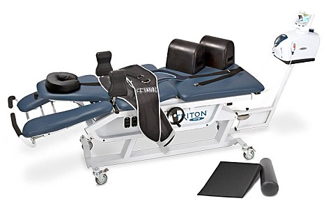 A stock image of the Triton DTS TRT-600 chiropractic machine which crushed Benjamin Bryan Newton to death