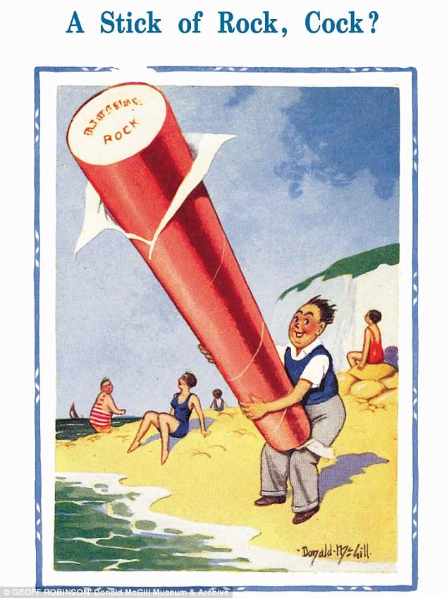 Donald McGill Obscene Seaside Postcards Banned 50 Years