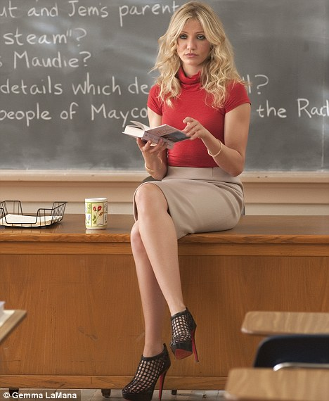 Guarantees attendance: Cameron Diaz's character is forced back to teaching after being dumped by her rich boyfriend