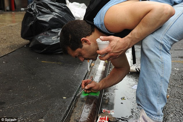 Modern day prospector: Raffi Stepanian searches for tiny scraps of gold and gemstones in Manhattan's Diamond District