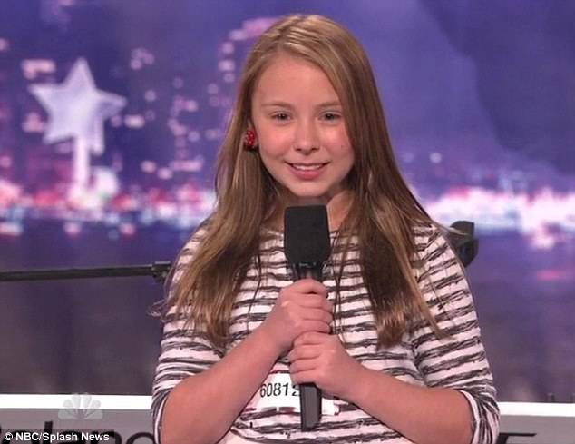 Star of the show: Anna Graceman wowed the judges with her rendition of Alicia Keys hit 'If I Ain't Got You'