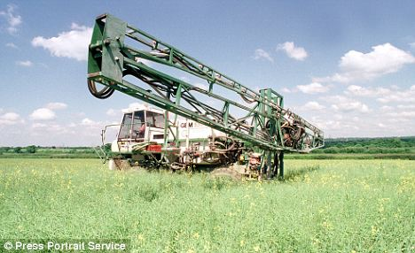 Spraying stops pests from eating crops, however it may also contribute to a host of diseases. Most recently it has been linked to Parkinson's disease