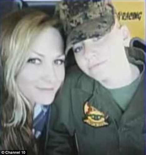 Scheme: Ashley Vice, right, and her girlfriend Jaime Murphy bother married male marines to qualify for married couples allowance