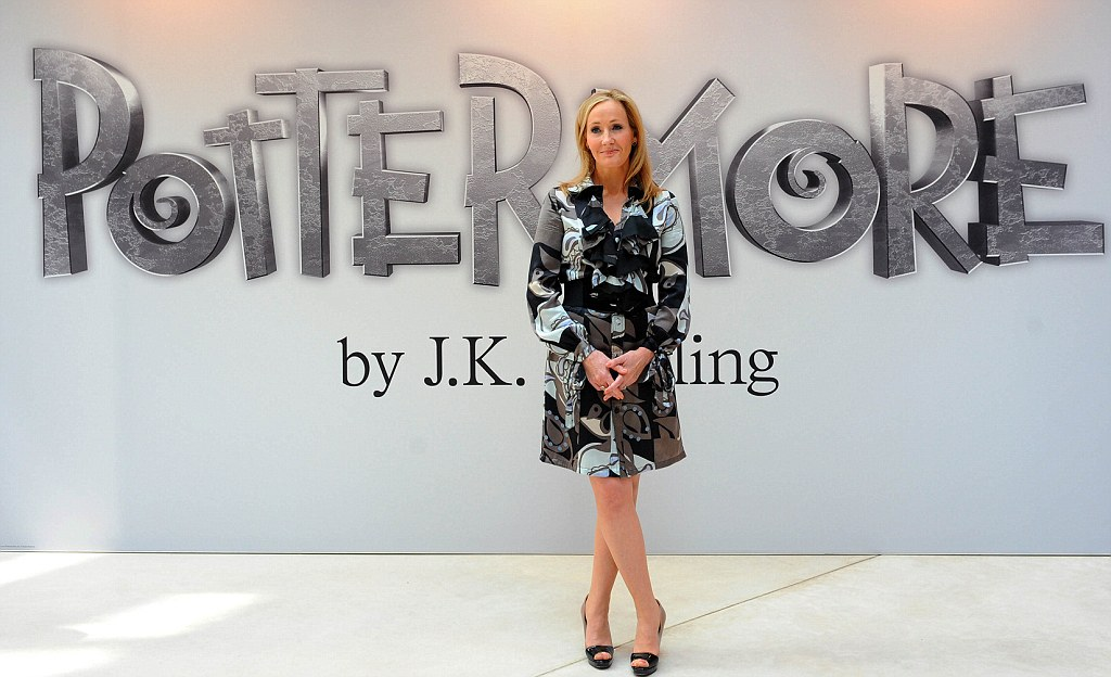Lost The Magic Jk Rowling Splits With Editor Who Made Her A Millionaire From Harry Potter Daily Mail Online