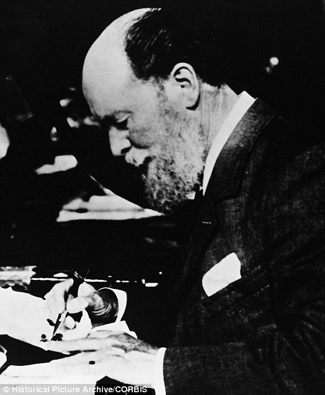 Master at work: Peter Carl Fabergé  was a Russian jeweller of Baltic German-Danish and French origin, best known for the famous Fabergé eggs, made in the style of genuine Easter eggs