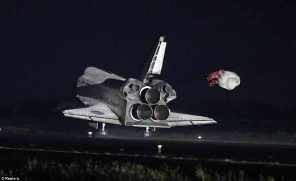 Space Shuttle Atlantis makes historic final landing as ...