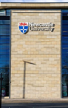 Test centre: Newcastle University was another site where human animal hybrid testing was being undertaken