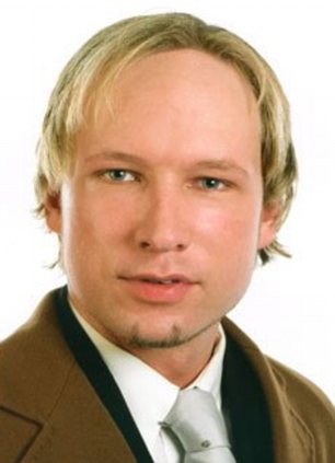 Face of a maniac: Anders Behring Breivik's manifesto was full of hate and hailed Vlad the Impaler as a hero