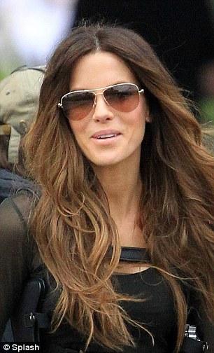 Kate Beckinsales Spitting Image Stunt Double On Set Of