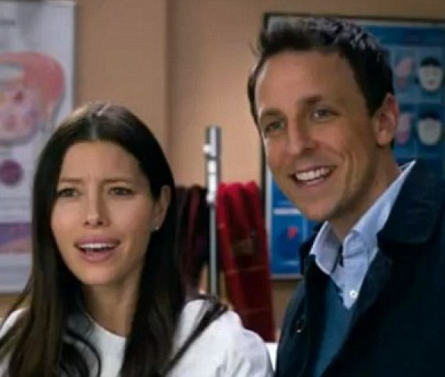 A Baby For New Years Jessica Biel And Saturday Night Live Star Seth Meyers Are