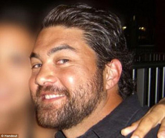 Saluted: Kraig Vickers of Haiku, Maui, a Navy bomb disposal team member, died when insurgents shot down the military chopper