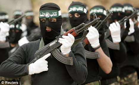 Hamas militants: The families of so-called 'martyrs' are given millions by the Palestinian Authority
