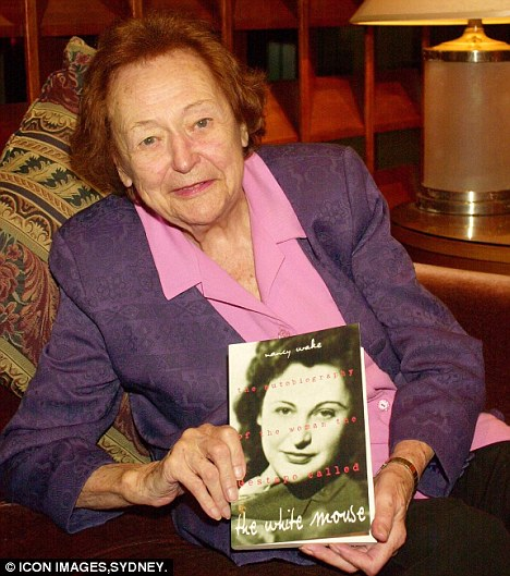 Deadly: Nancy Wake killed Nazis with her bare hands