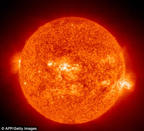 Risk: Experts believe the Sun finishing its grand solar maximum could create increased radiation risk for air passengers and crew