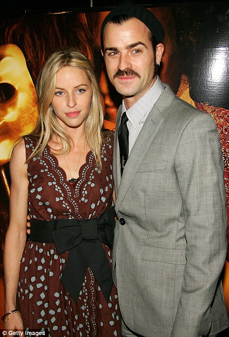 Justin Theroux Was With Girlfriend Heidi Bivens When He