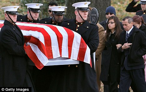New terror target: Jihadists are being told that military funerals are an easy way to get at commanders and state leaders