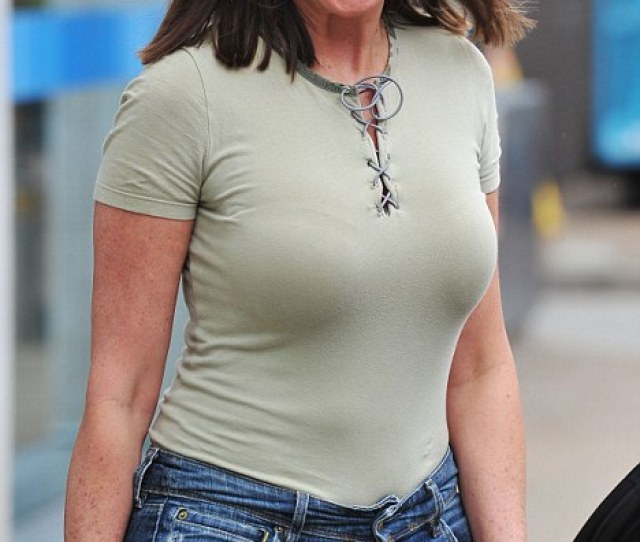 Not Many  Year Old Women Could Wear That Carol Vorderman Wore A