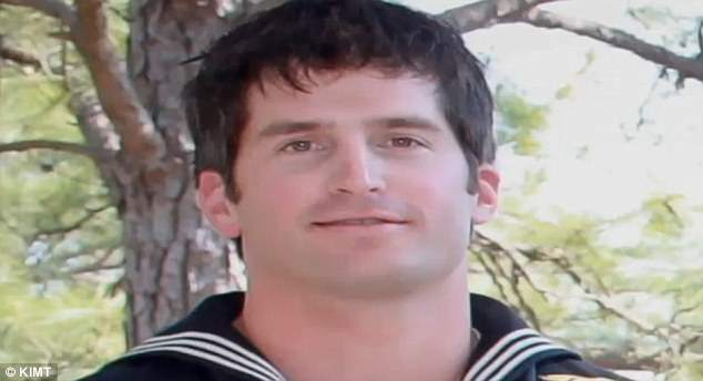 Downed: Mr Tumilson, of San Diego, California, was one of 38 killed on August 6 when a rocket-propelled grenade took out their Chinook helicopter