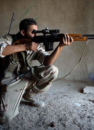 Sniper: Nisreen shot 11 rebel fighters in cold blood