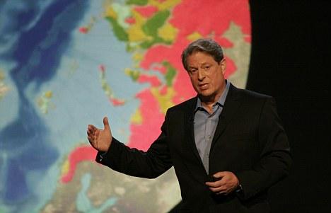 Polémica analogía: el campeón del cambio climático y el ex vicepresidente Al Gore