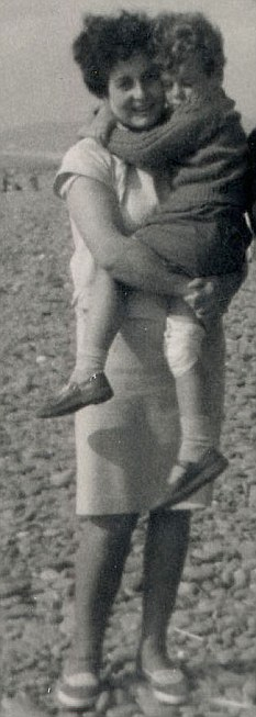 Nick Maes, aged four, with his mum Wil