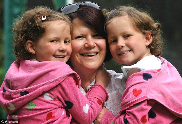 Optimistic: Mother Emma Garwood has said that her daughters are 'doing brilliant'