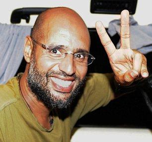 Blair links: Saif Gaddafi