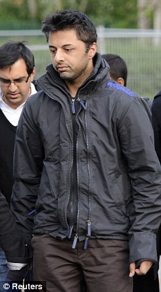 Dewani arrives at his extradition hearing last month where a judge ruled he could be sent to South Africa to stand trial