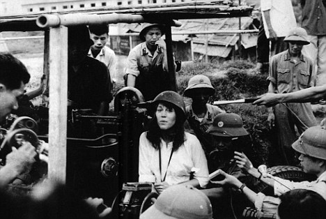 Vietnam visit: Fonda travelled to the country in 1972 and made a huge mistake when she sat on an anti-aircraft gun but realised too late
