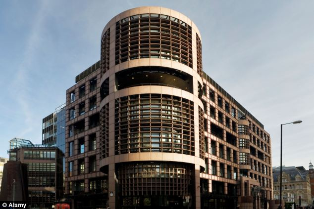 Banking probe: UBS London headquarters at the Broadgate complex Liverpool Street in the heart of the City