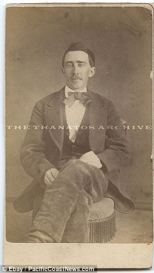 This photo apparently from the 1870s of a man who looks exactly like actor Nicholas Cage
