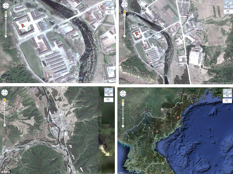 Hell on earth: Detailed satellite photos show death camps North Korea still deny even exist  article 2039542 0DFEA30B00000578 859 964x719
