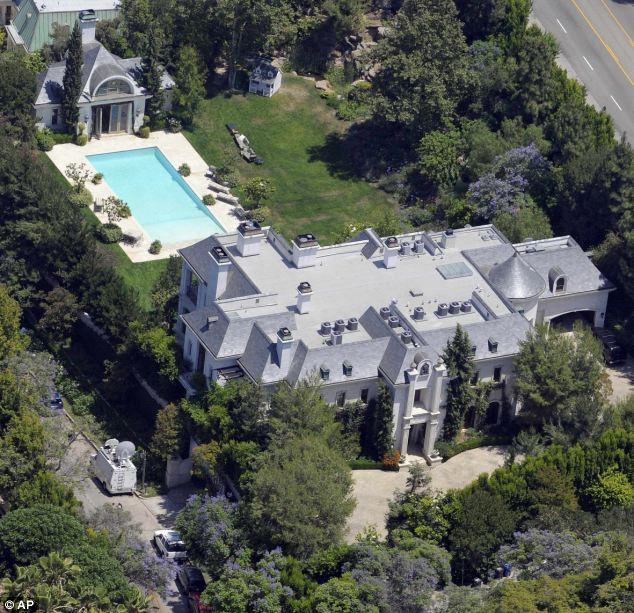 Home: Jackson went into cardiac arrest at this rented house in LA