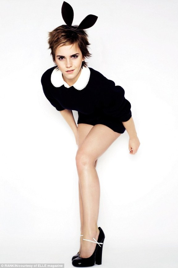 Bunny: Emma Watson says she doesn't want to conform to LA norms