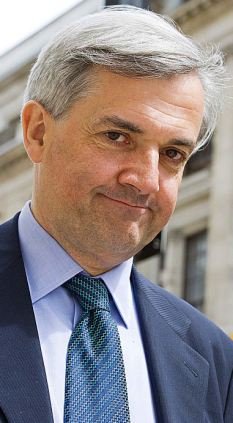 Pro green: Chris Huhne said he wanted to go 'further and faster' when he was Energy Secretary