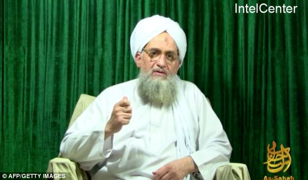 Glorifying violence: The terrorist leader praised the 9/11 attacks in his sixth video since Bin Laden's death