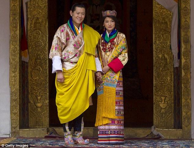 Jigme Khesar Namgyel Wangchuck dan Jetsun Pema.