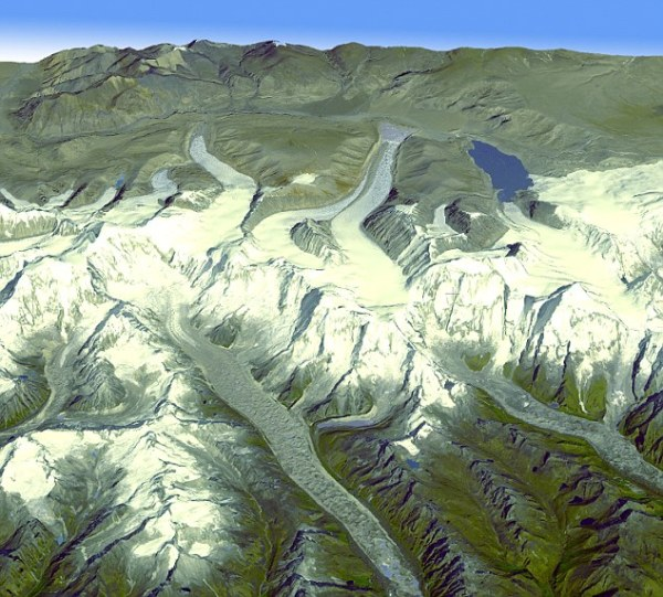Nasa turns to exploring our planet with a new 3D map that ...