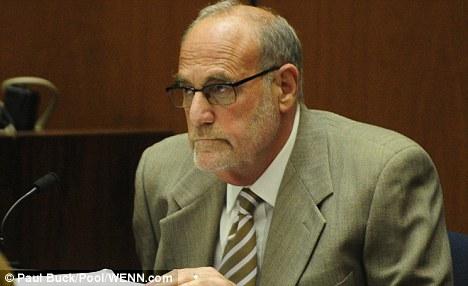 Dr. Allan Metzger testifies