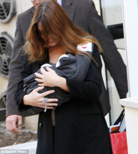 Carla Bruni Sarkozy gave birth to baby Giulia last week, age 43 - but while she is blessed with excellent genes, other older mothers say they struggle with the physical impact of carrying a child later after 40