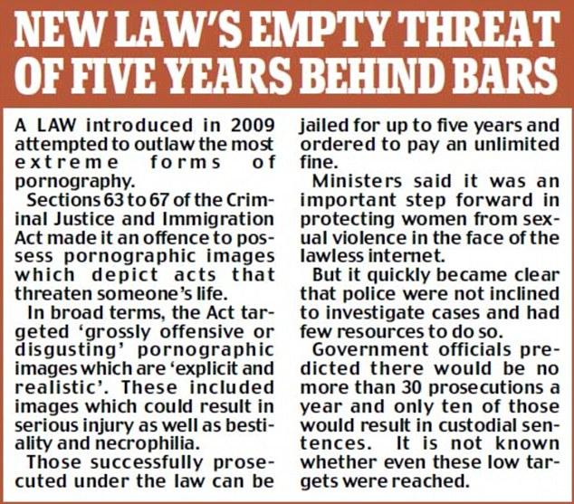 New law's empty threat