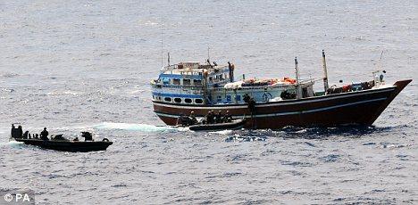 Piratas: Hay alrededor de 50 barcos actualmente secuestrados