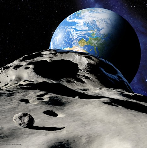 Near-Earth asteroid: 2005 YU55 will shave our planet .8 lunar distances away on Tuesday, November 8